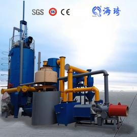 海琦垃圾气化炉 秸秆炭化炉 炭基肥生产线