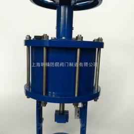 ZS气动执行器 侧装手轮活塞执行器