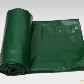 天悦篷布厂FB065绿色帆布 PVC涂塑布货场盖布
