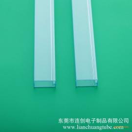 慈溪厂家直销pvc透明料管防静电真空管ic塑胶包装管
