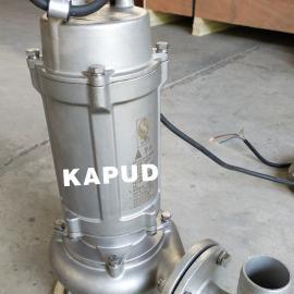 0.75KW不锈钢304潜水排污泵 污水提升泵