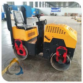 小型双轮压路机价格 一吨振动压路机产品质量稳定