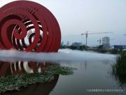 临沧人造雾设备-嘉鹏人造雾景观系统-景区园林人造雾工程