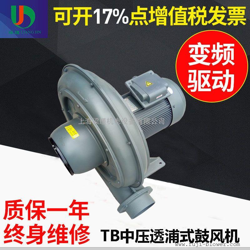 TB150-5透浦式风机-3.7KW工业暖气设备专用鼓风机厂家