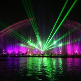 水幕激光灯 喷泉激光灯