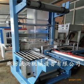 专业定制多种型号热收缩包装机 袖口式碳酸饮料热塑膜包装机