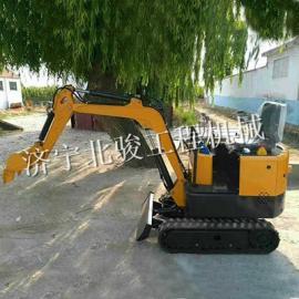 工业建筑施工小挖机,橡胶履带挖掘机