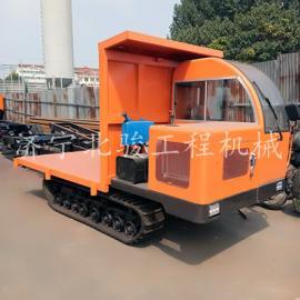小型自卸运输车履带式车,沼泽履带四不像车