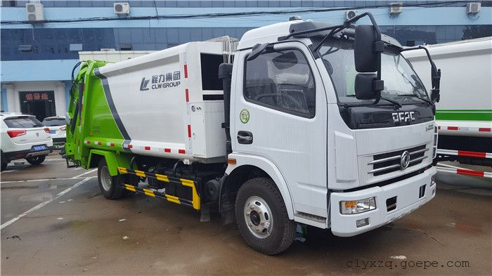 5吨压缩垃圾车厂家-垃圾车价格