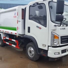 东风多利卡7立方压缩式垃圾车