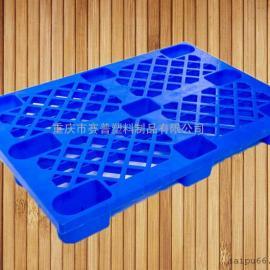 新款1210九脚塑料托盘 全新料轻型网格塑料托盘