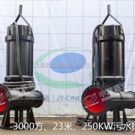 中蓝潜污泵|大流量潜水排污泵|污水泵