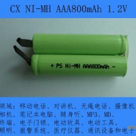 厂家供应NI-MH AAA800mAh镍氢电池