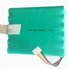 厂家供应扫地机器人电池(14.4V AA1200mAh)