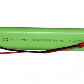 厂家供应NI-MH AA1500 7.2V扫地机镍氢电池组