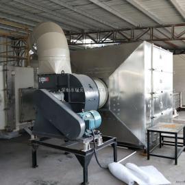 UV光解除臭设备,UV光解废气净化设备,等离子光氧设备