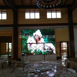 惠州室内高清LED显示屏P3P4全彩屏厂家报价