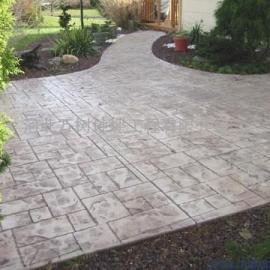 压印地坪材料经久耐用,质量保证