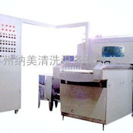 苏州非标定做环保型水溶剂球销除油链网通过式喷淋清洗机