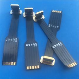 无线 苹果T字型公头5P无线充电 金属头带排线 不易断