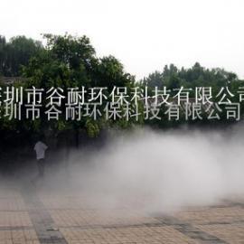 广西住宅区喷雾降温工程