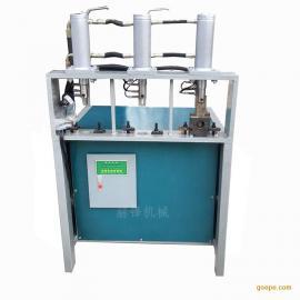 管材冲孔机锌钢管材打孔白钢坡口冲孔机械