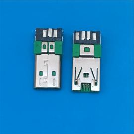 快充MICRO OPPO 7P公头焊线闪充R9 R11充电