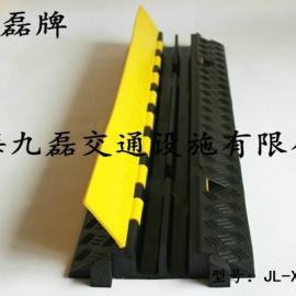 车间地面线槽板,橡胶二线槽线槽板,两个槽橡胶线槽板,电缆线槽板