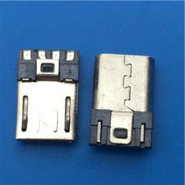 焊线MICRO公头11.5mm前五后四 短体4-5短路超薄