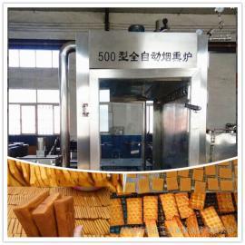 山东豆干烟熏炉厂家|500型烟熏豆腐干设备