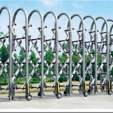 蓬江区工业厂区大门电动伸缩门价格,供应蓬江区电动伸缩门批发