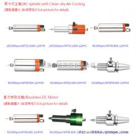 PCB分板机电主轴 100000rpm 台湾原产