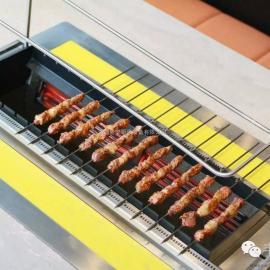 桌面自动无烟电烤机