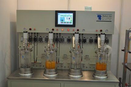 离位灭菌机械搅拌玻璃发酵罐