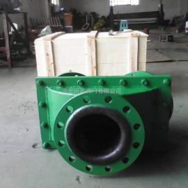 矿浆三通换向止回阀 三通换向止回阀 矿浆换向止回阀