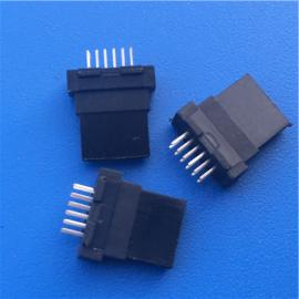 三星12P公�^/全塑MINI USB 12P�A板焊�式黑�z