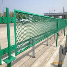 批发高速公路防眩网 菱形孔钢板网隔离栅厂家