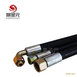 耐火耐温胶管耐阻燃高压管钢丝缠绕钻探胶管耐火抗静电
