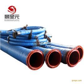 定制大口径吸水排污胶管喷砂胶管疏浚管棉线编织胶管