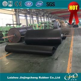 B6500超宽橡胶输送带工业耐磨橡胶传送带厂家直销
