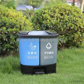 贵阳校园垃圾桶,食堂分类垃圾桶厂家直销