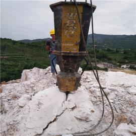 公路路基岩石拆除大型液压劈裂机
