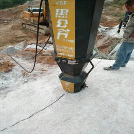 �B接挖掘�C小型劈裂器