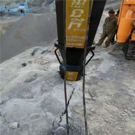 硅石矿开采岩石液压劈裂机