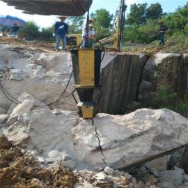 汉中岩石劈裂器