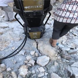 沟渠挖掘遇到硬石头液压岩石膨胀机
