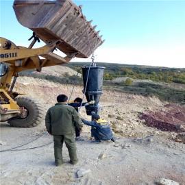 挖沟渠遇到硬石头液压劈裂器