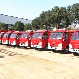 生产装水2吨庆铃小五十铃的水罐消防车生产厂家哪家好