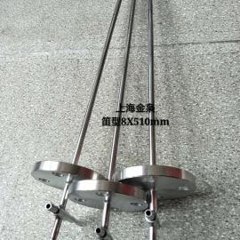 JFC-8-510笛型皮托管 阿巴牛均速管 静压管加法兰