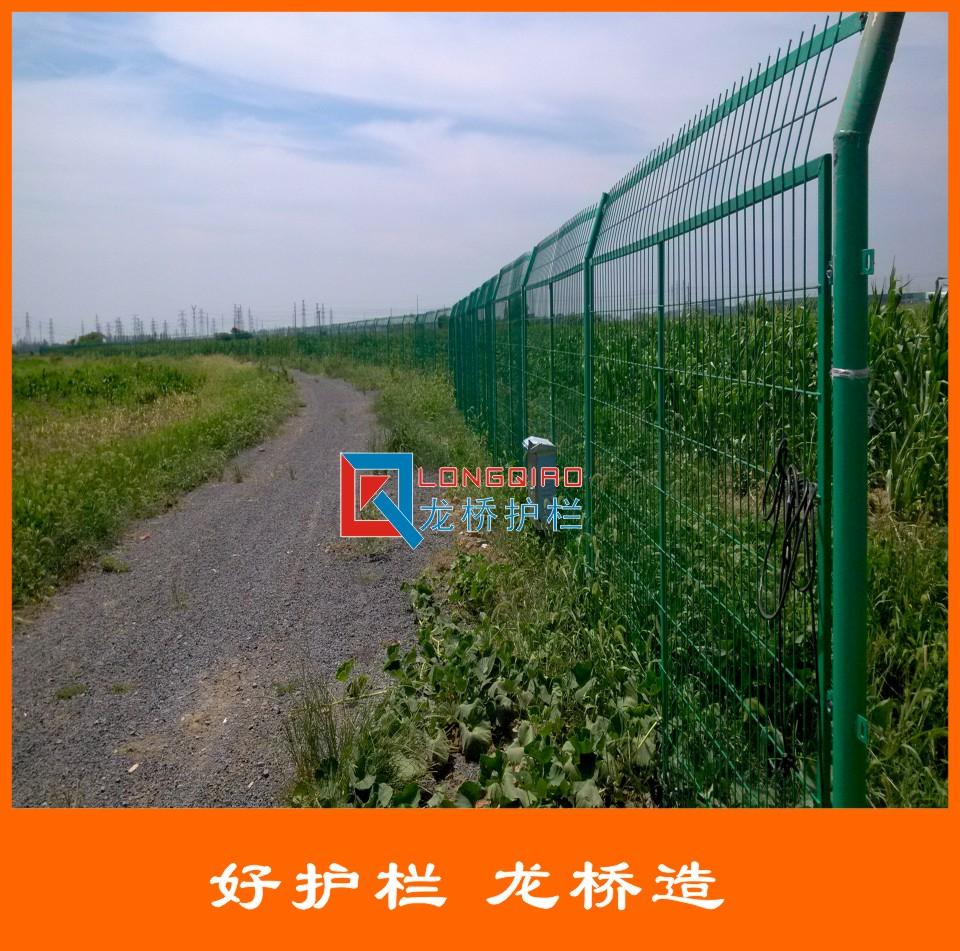 龙桥护栏厂家直销 绿色 高速护栏网 公路护栏网厂家